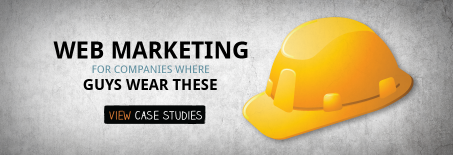 Web marketing for B2B industrial companies