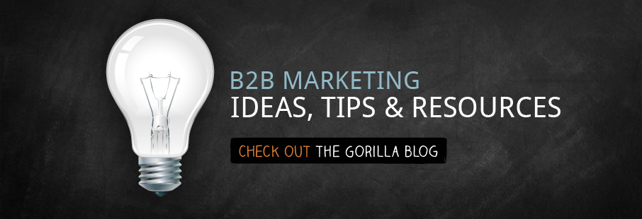 B2B marketing ideas, tips and resources