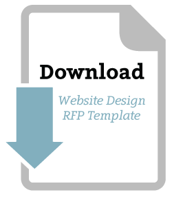 Download website design RFP template