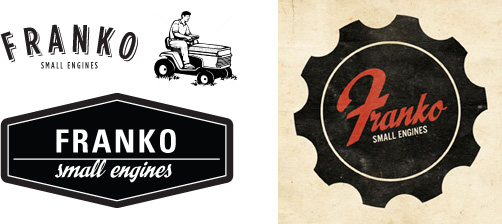 Franko Small Engines logo exploration