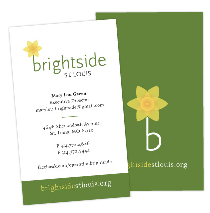Brightside St. Louis business cards