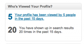 Who's viewed my profile on LinkedIn?