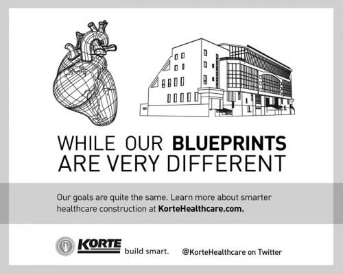 Healthcare construction advertising