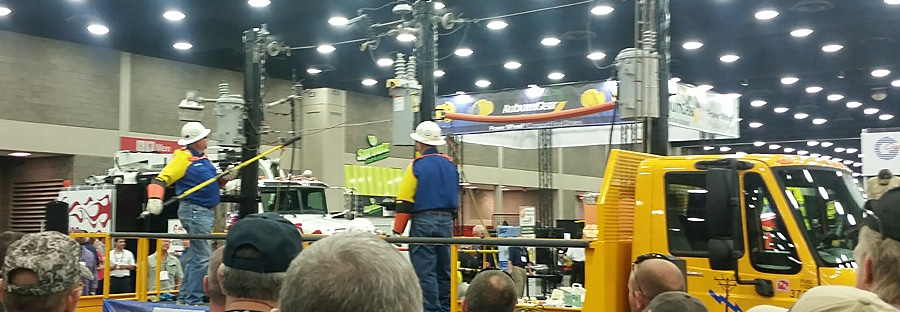 Safety demonstration at ICUEE 2015 in Louisville, Kentucky