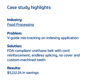 case study highlights section example