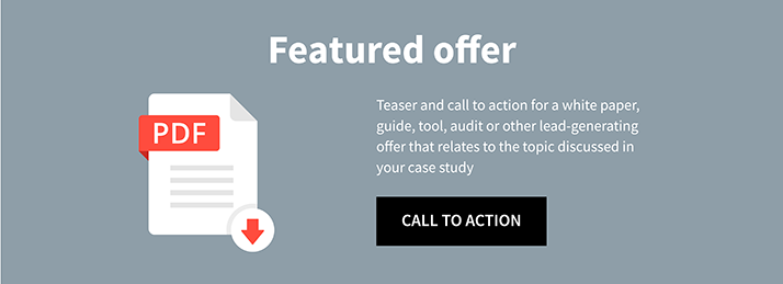 perfect case study call to action