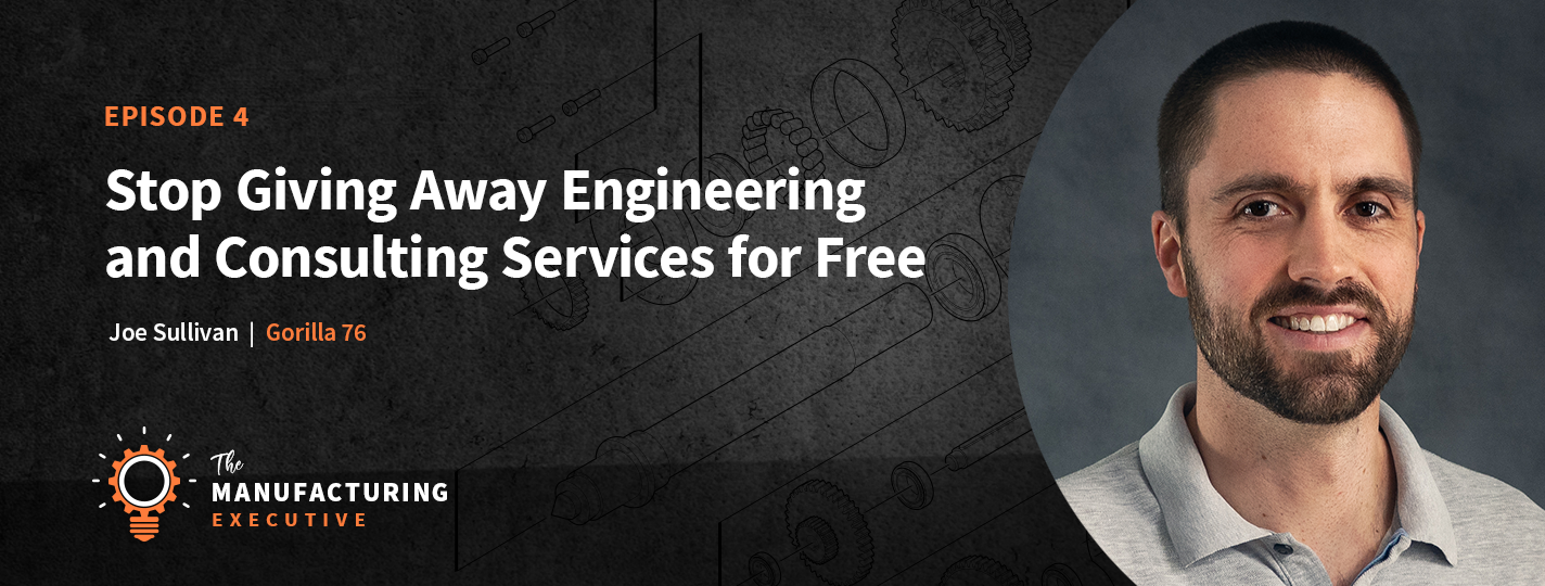 Stop giving away engineering for free