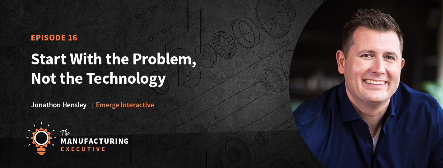 Start with the problem, not the technology podcast