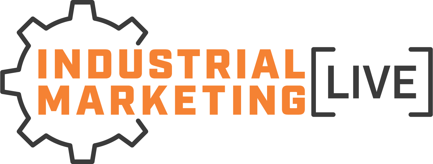 industrial marketing live logo