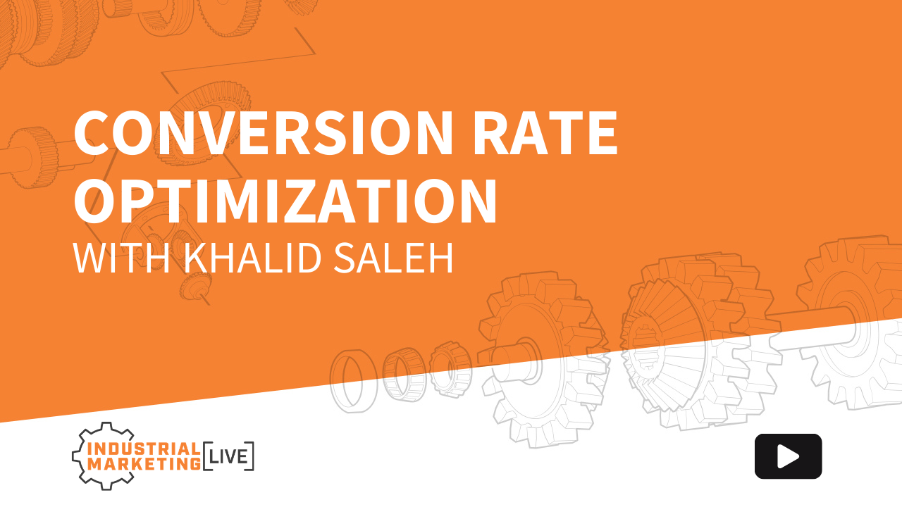Conversion Rate Optimization with Khalid Saleh